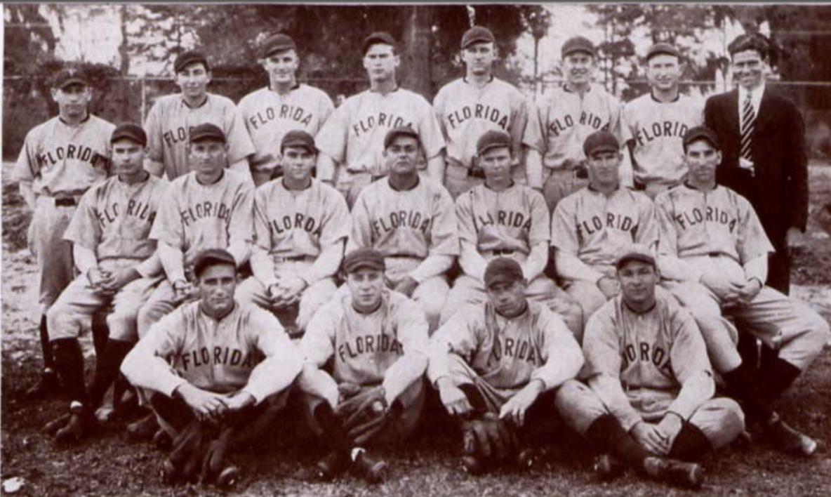 File:1930 Florida Gators baseball team.png - Baseball Team PNG