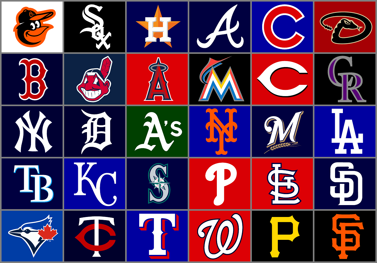 . PlusPng.com Major League Baseball team logos by Chenglor55 - Baseball Team PNG