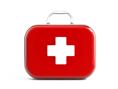 First Aid Kit PNG Transparent Image - Basic First Aid PNG