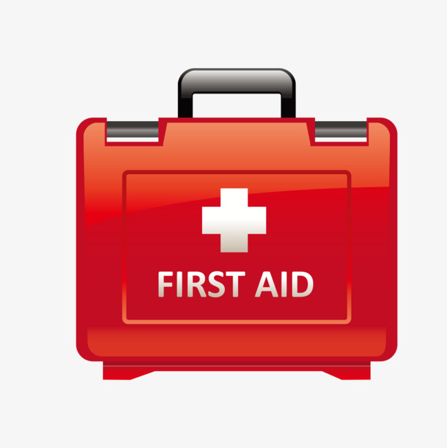 red first aid kit, Red, First Aid Kit, Emergency PNG Image and Clipart - Basic First Aid PNG