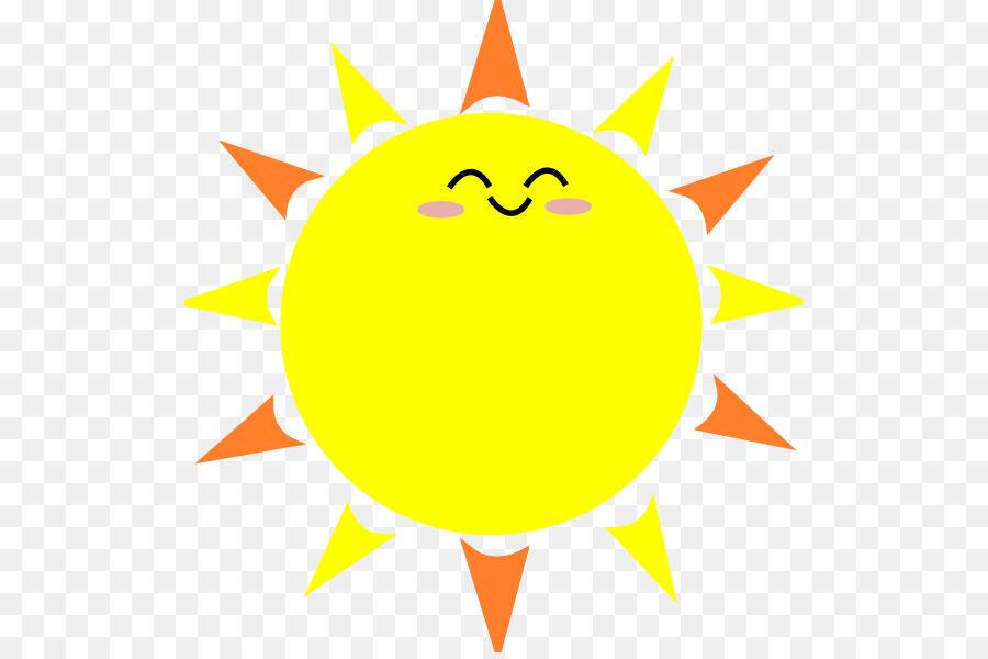 Cartoon Drawing Animation Clip art - Cute Suns - Basic Sun PNG