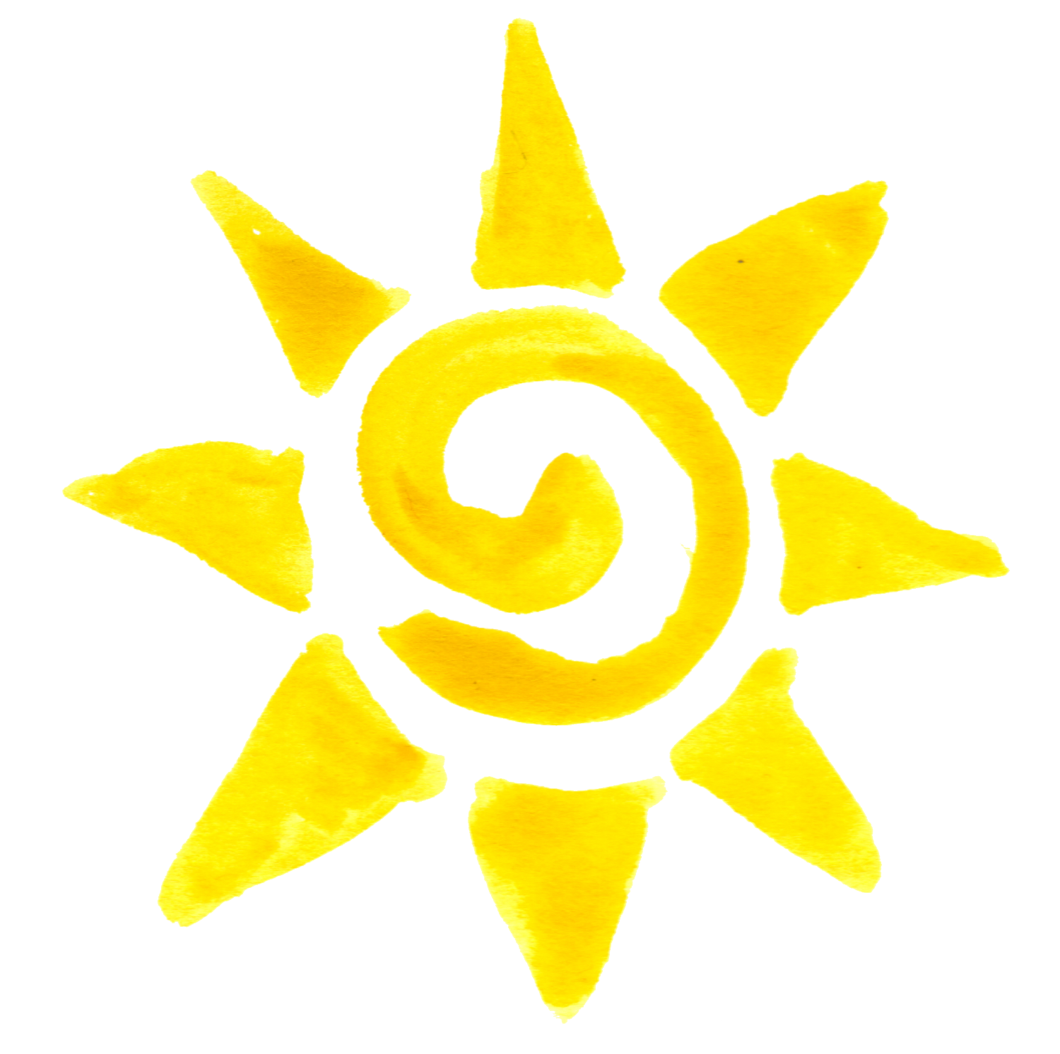 Sun Drawing Png - Basic Sun PNG
