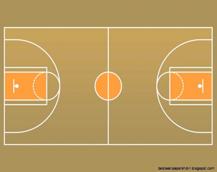 Basketball Court PNG HD - 122765