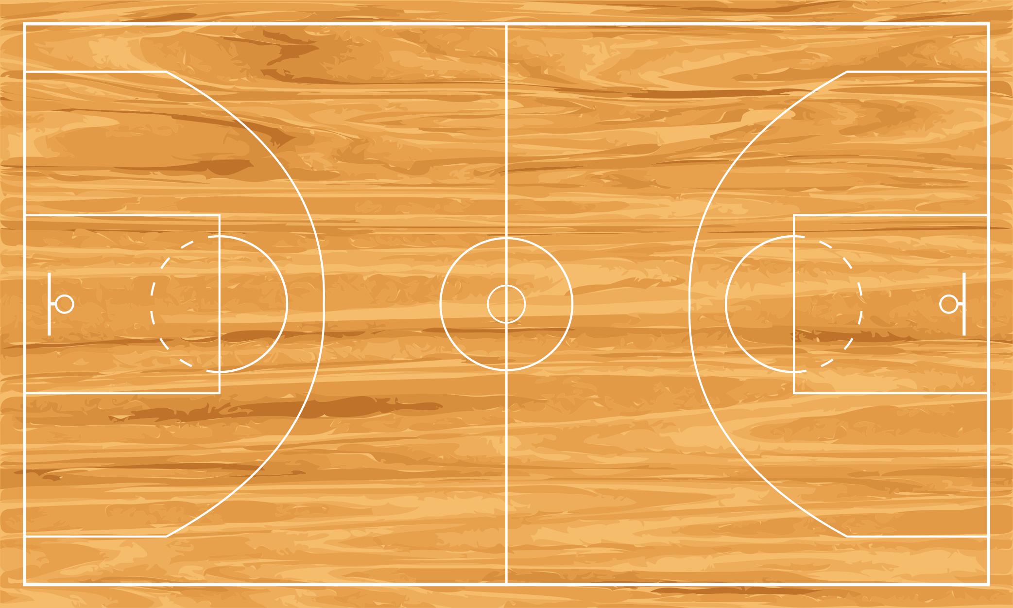 Basketball Court PNG HD - 122762