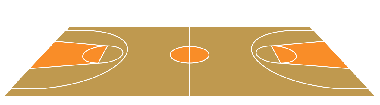 Basketball Court PNG HD - 122770