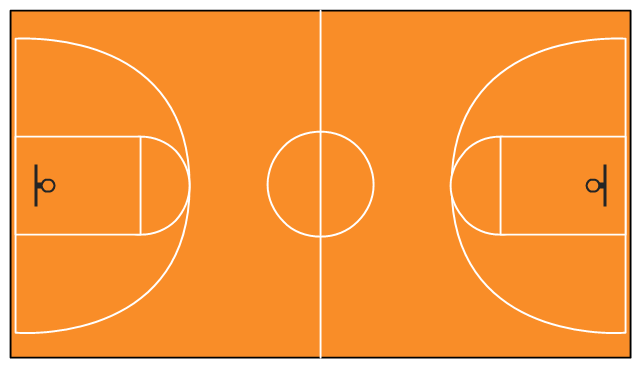 Basketball Court Clipart - PNG Image #6314 - Basketball Court PNG HD