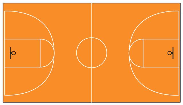 Basketball Court PNG HD - 122763