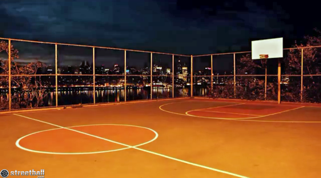 Basketball Court Background R