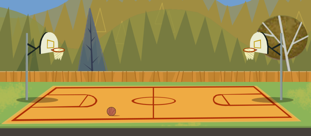 Outside clipart basketball court #11 - Basketball Court PNG HD