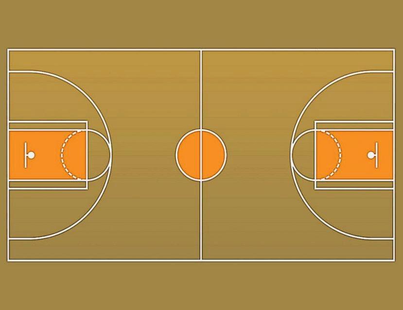 Basketball Court PNG HD - 122768