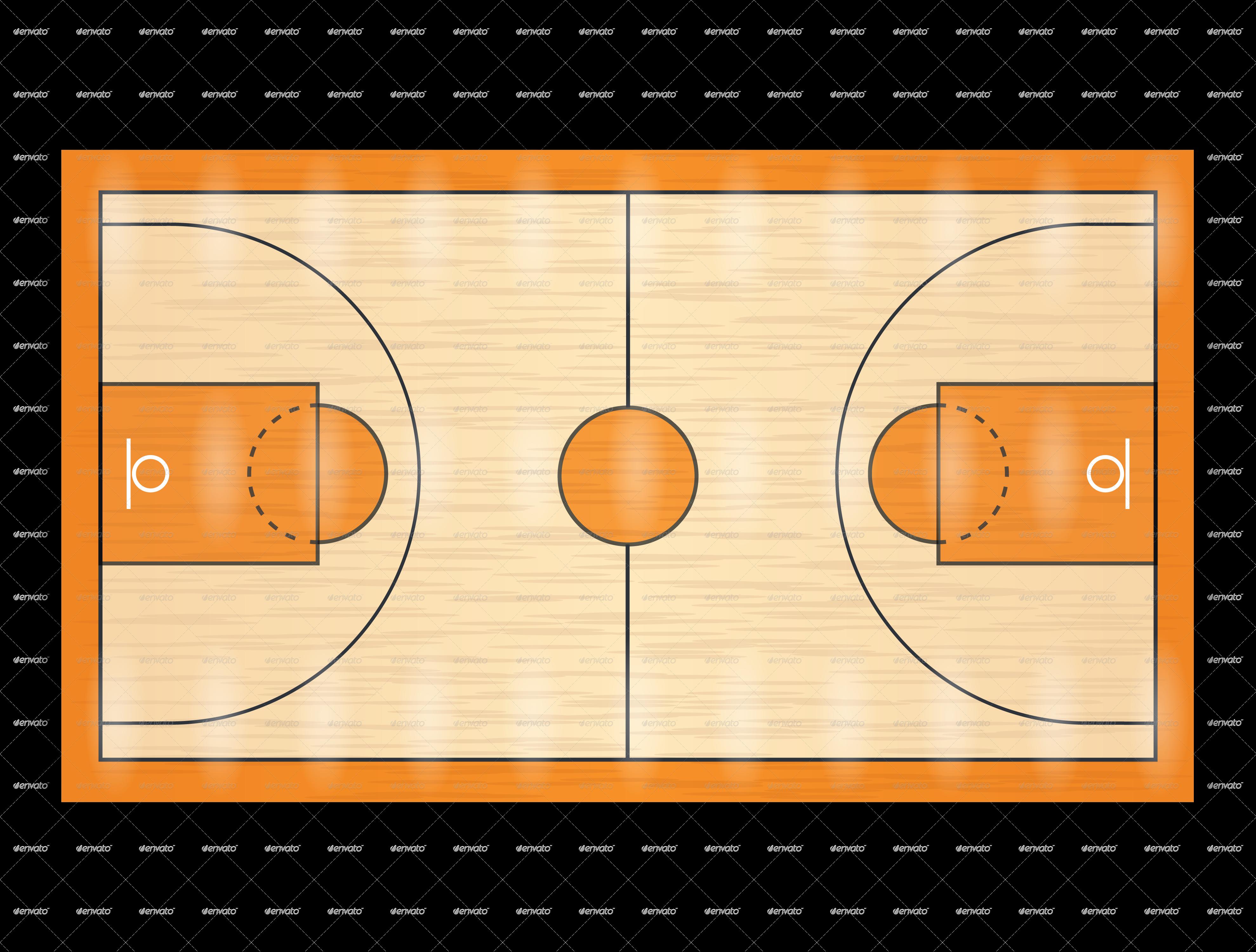 Basketball Court PNG HD - 122775