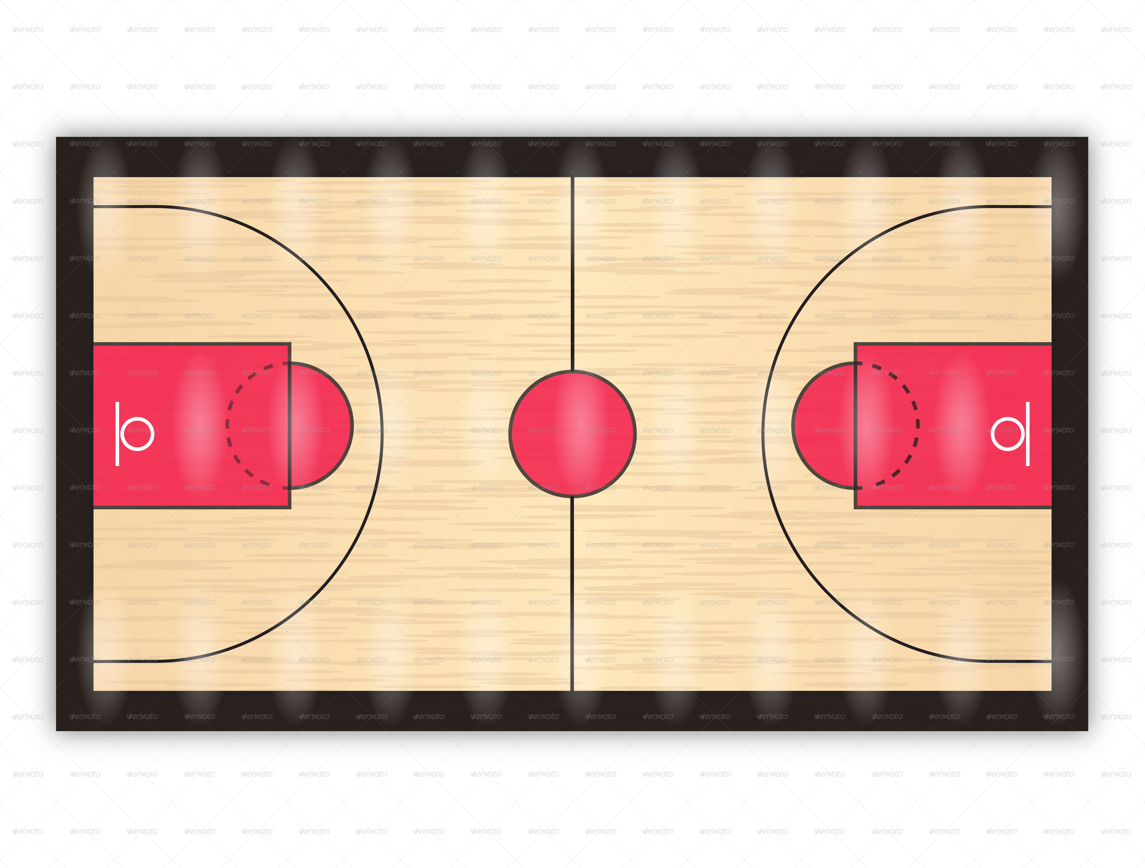 . PlusPng.com PNG/Basketball-Court-02.png PlusPng.com  - Basketball Court PNG HD
