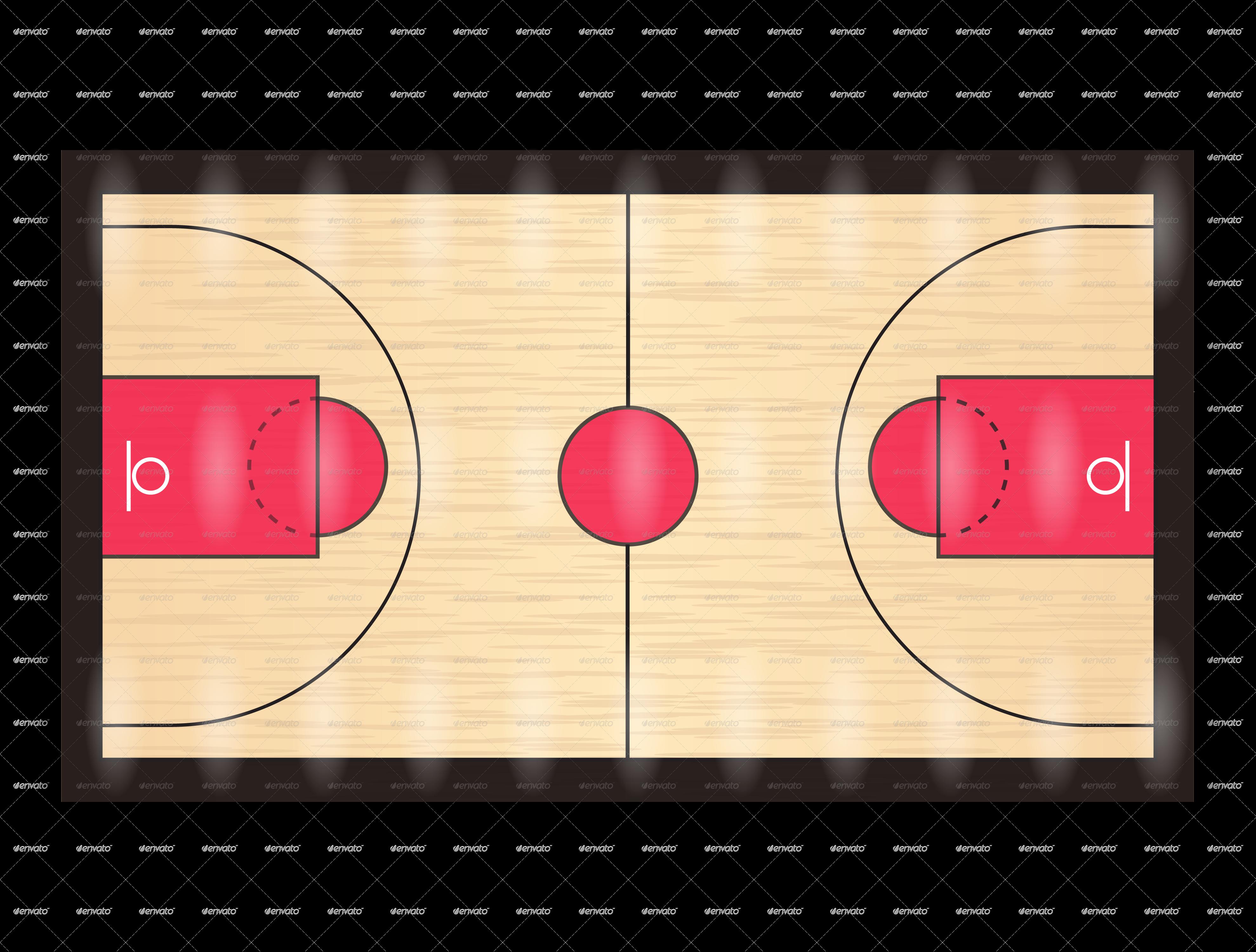 Basketball Court PNG HD - 122767