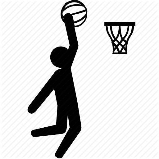 basket, basketball, dunk, hoop, slam icon - Basketball Dunk PNG