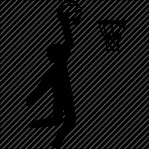 basket, basketball, dunk, hoo