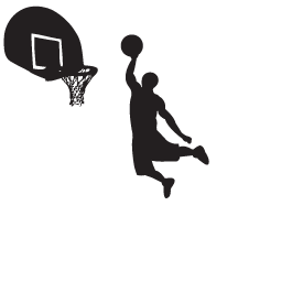 Basketball Dunk PNG