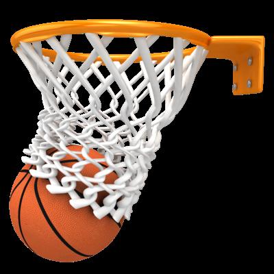 Basketball Going In Hoop PNG