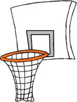 Nba Basketball Hoop Side View
