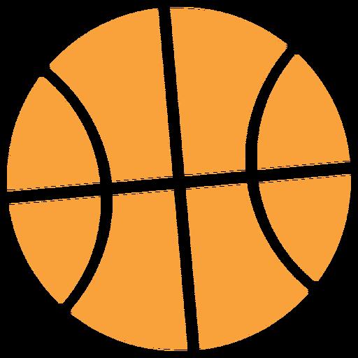 Basketball icon silhouette