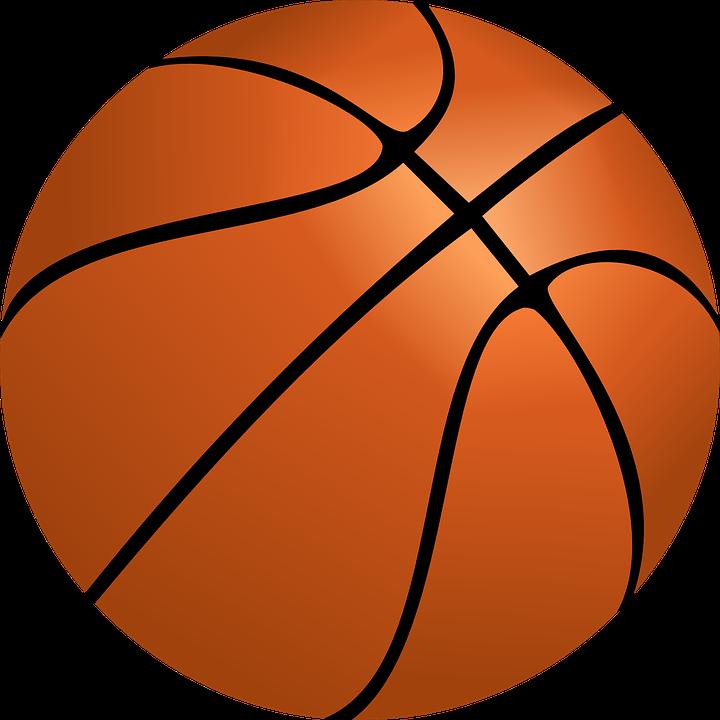 Basketball Ball Nba Sport Basketball Baske - Basketball Net PNG HD