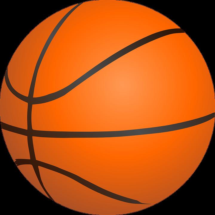Basketball Ball Sports Orange Round Basket - Basketball Net PNG HD