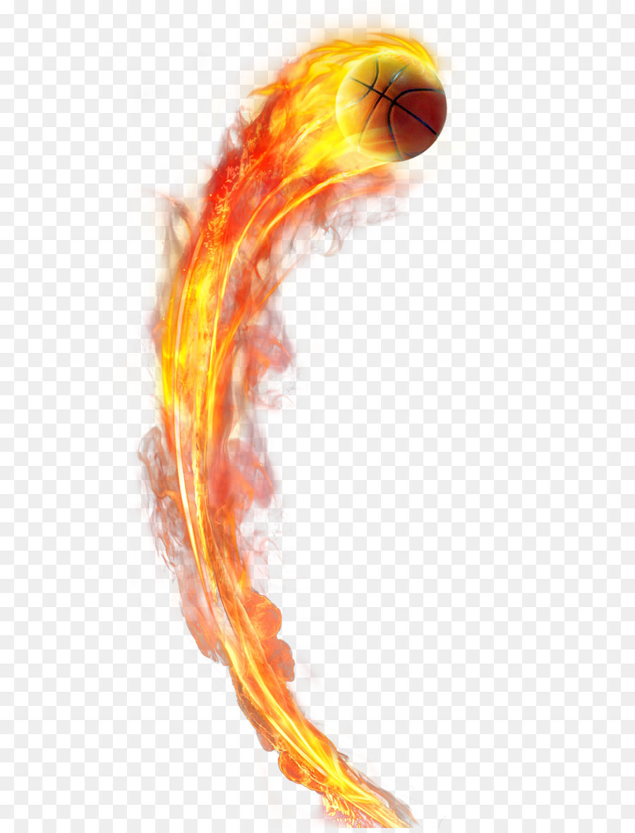 Basketball On Fire PNG - 157518