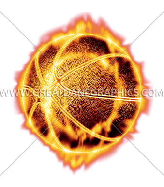 fire realistic basketball