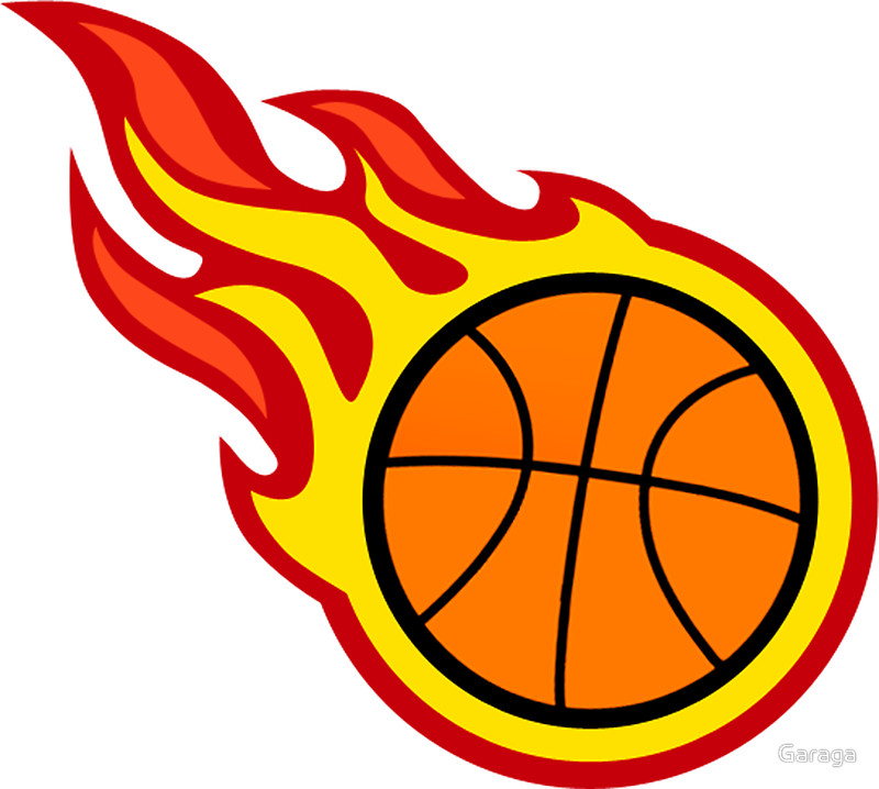 Basketball On Fire PNG - 157523