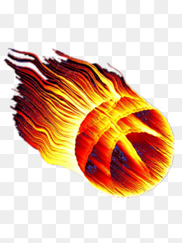 Basketball On Fire PNG - 157527
