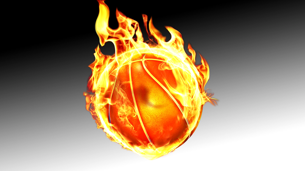 Itu0027s a basketball ON FIRE!!! u0027Nuff said. - Basketball On Fire PNG