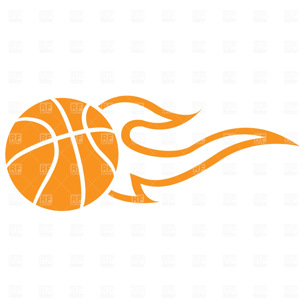 Basketball On Fire PNG - 157534