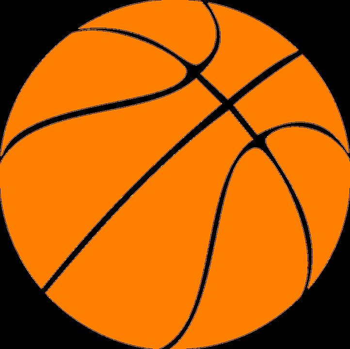 Basketball, Orange, Rubber, Sphere, Ball, Sport, Game - Basketball PNG