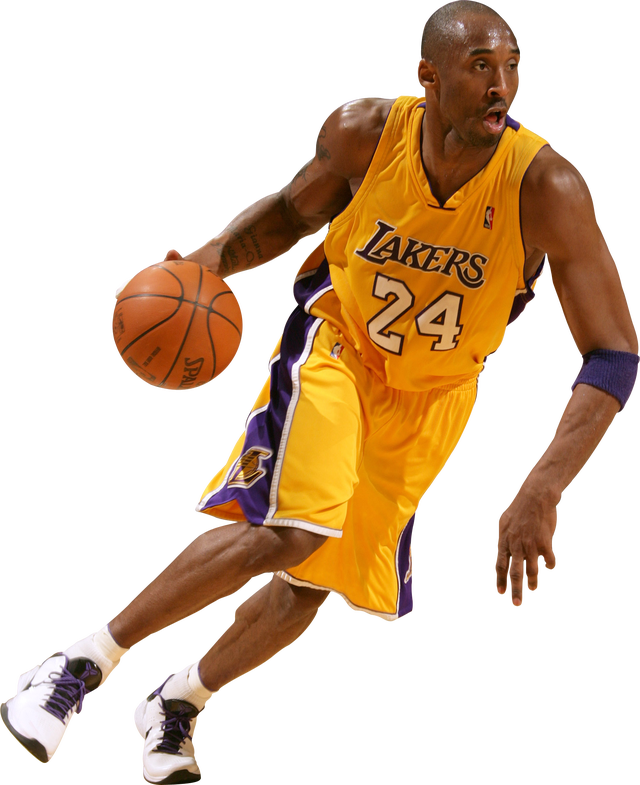 10 Athlete PNG Images (Free Cutout People) for Architecture, Landscape,  Interior Renderings-Kobe Bryant_Basketball - Basketball Players PNG HD
