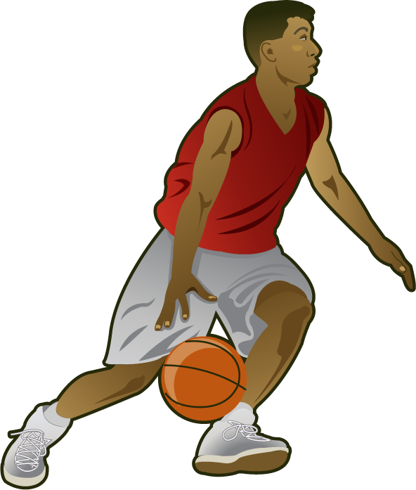 Basketball Player Clipart - Basketball Players PNG HD