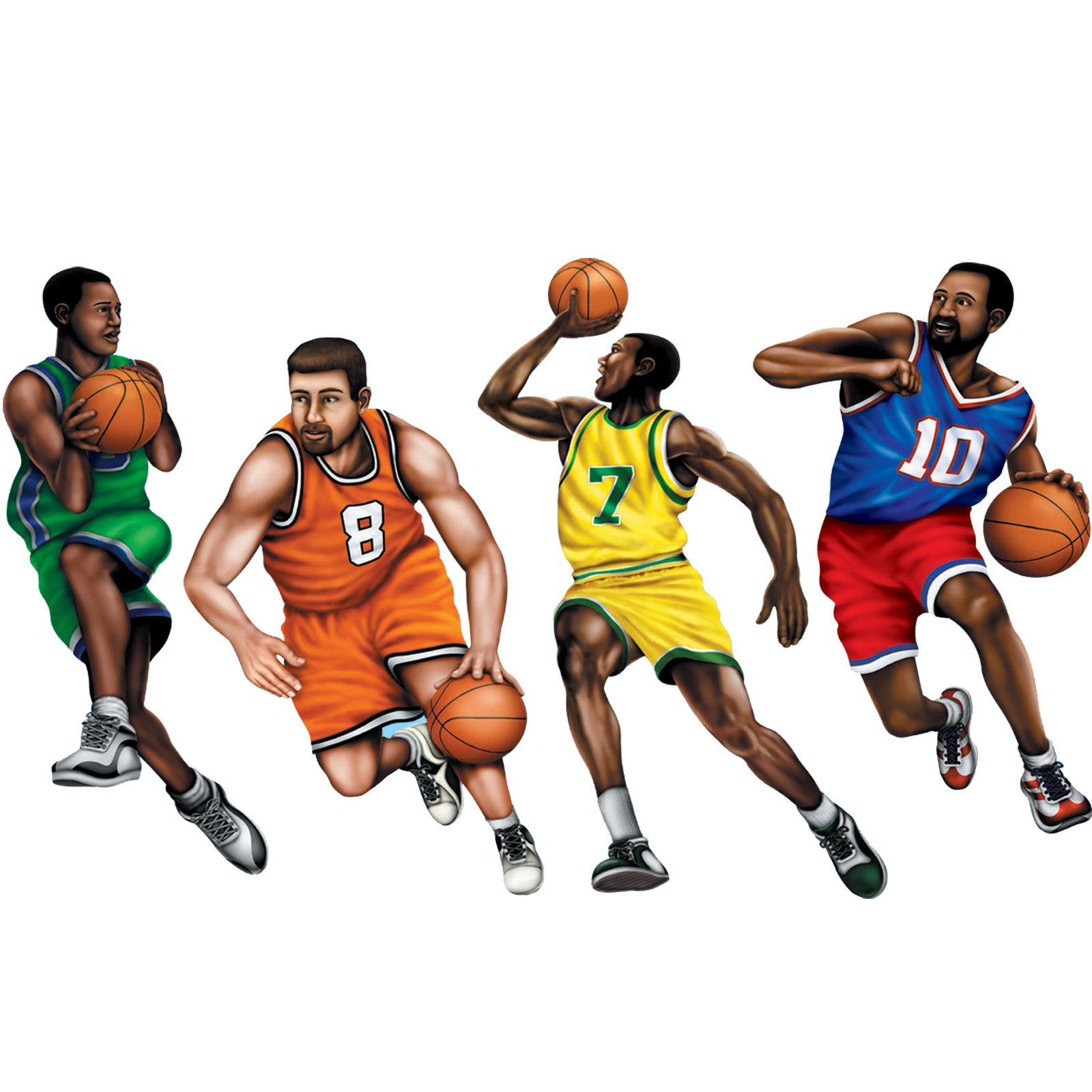 Hd clipart nba players - Basketball Players PNG HD