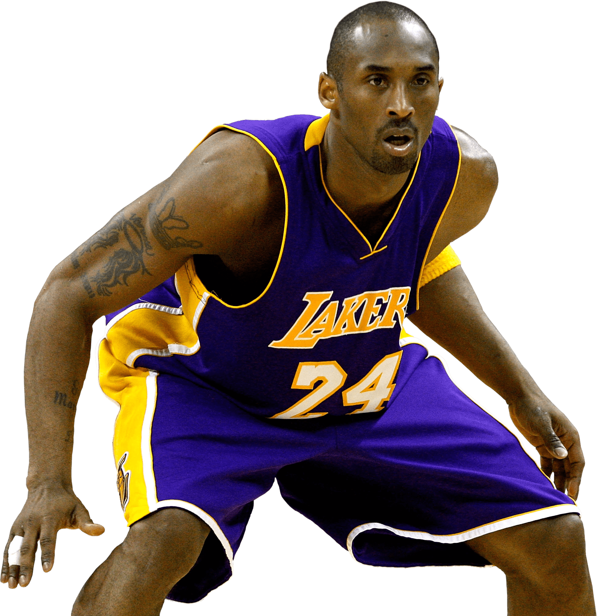 Kobe Bryant Defense - Basketball Players PNG HD
