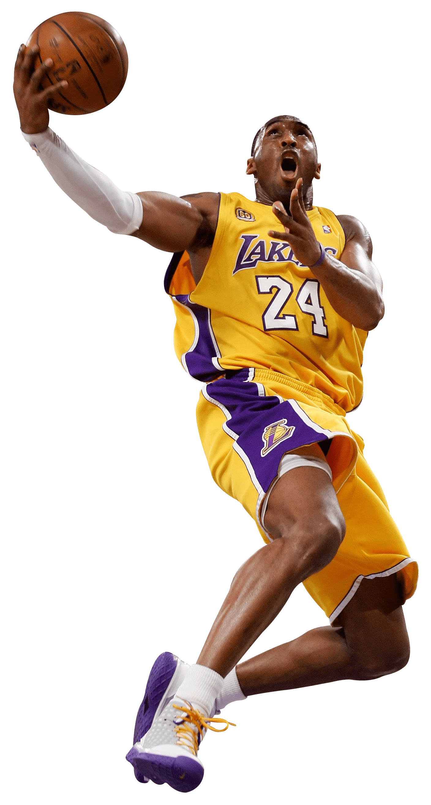 Kobe Bryant Dunk - Basketball Players PNG HD