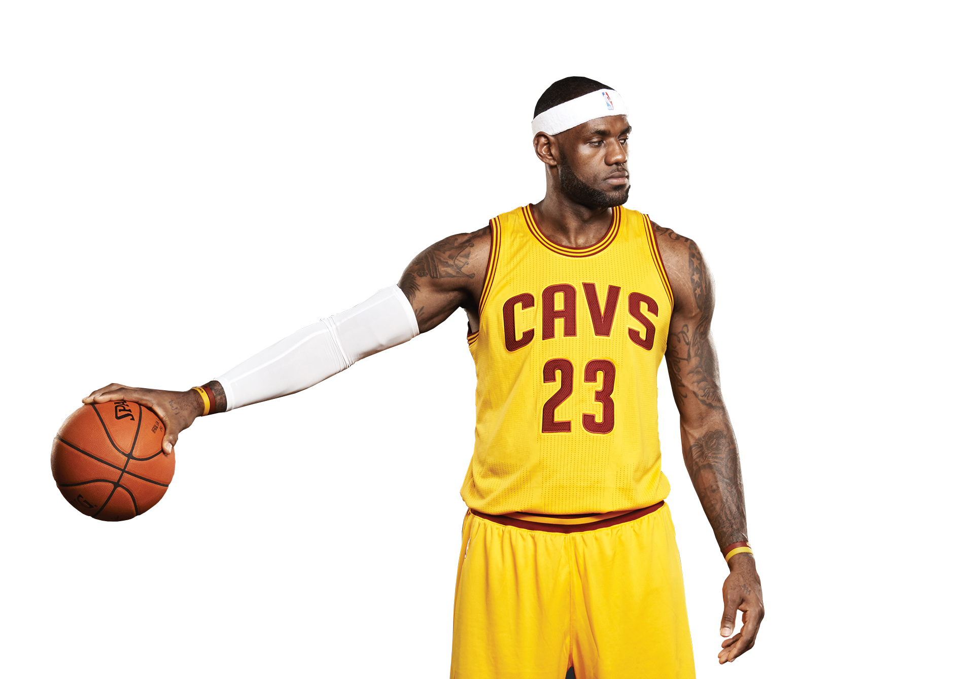 LeBron James Transparent Background - Basketball Players PNG HD