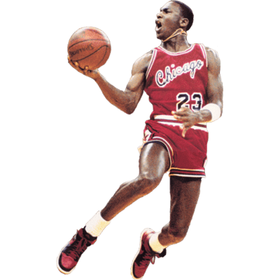 Michael Jordan PNG HD - Basketball Players PNG HD