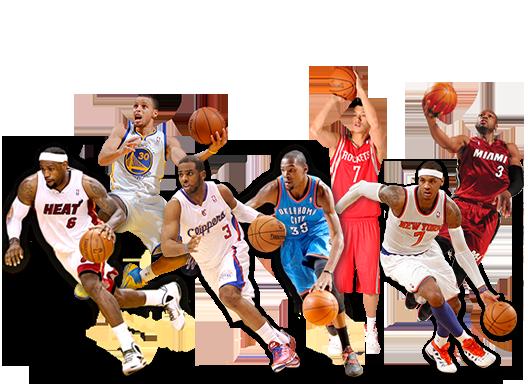Basketball Players PNG HD - 126868