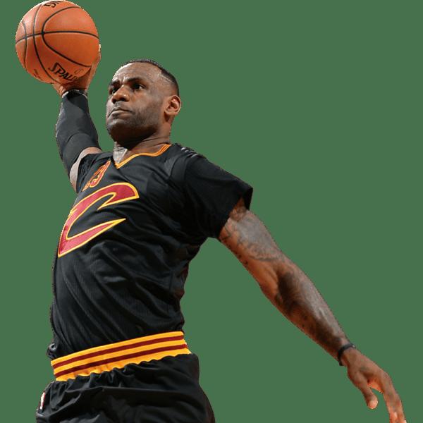 Top NBA Athletes. LeBron James Fathead - Basketball Players PNG HD