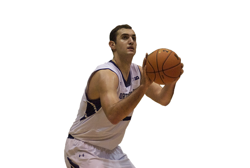 Menu0027s Basketball: With a new post game, Alex Olah steps up his contributions - Basketball Shot PNG