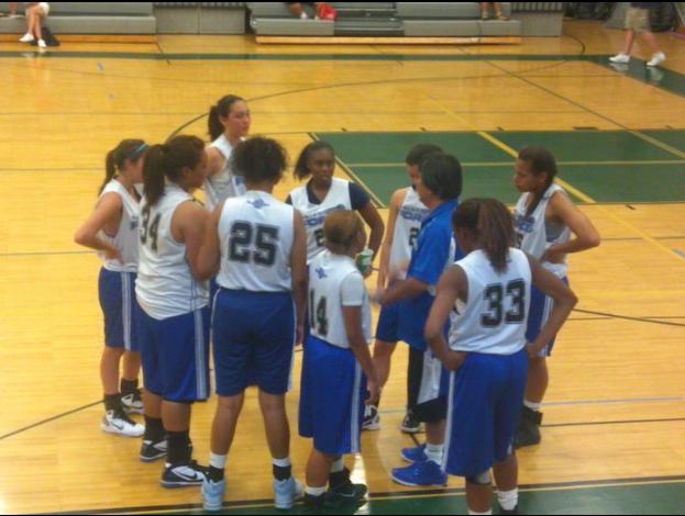 Salesian Force Elite Team Huddle - Basketball Team Huddle PNG