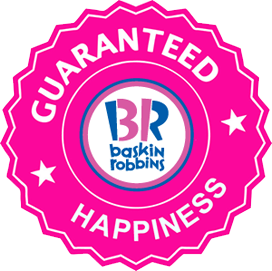 Includes single/double generous 2.5 ounce scoop of your chosen Baskin  Robbins ice cream or sorbet. These are in pre-scooped cups. - Baskin Robbin PNG
