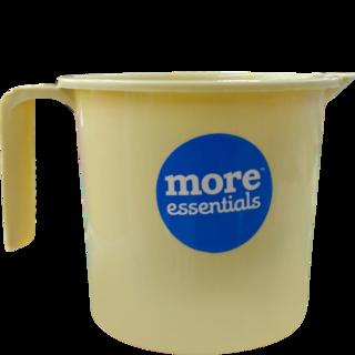 More Quality 1st More Essentials Beige Bath Mug - Bath Mug PNG