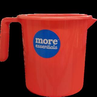 More Quality 1st More Essentials Red Bath Mug - Bath Mug PNG
