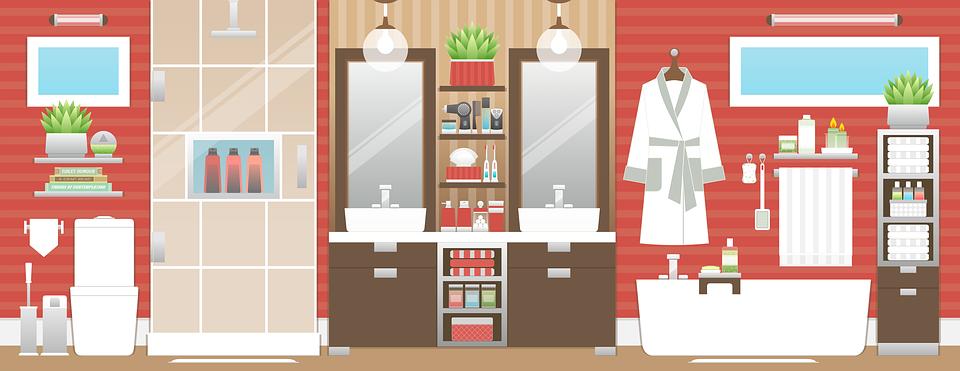 Bathroom, Bathroom Interior, Design, Interior Design - Bathroom Interior PNG