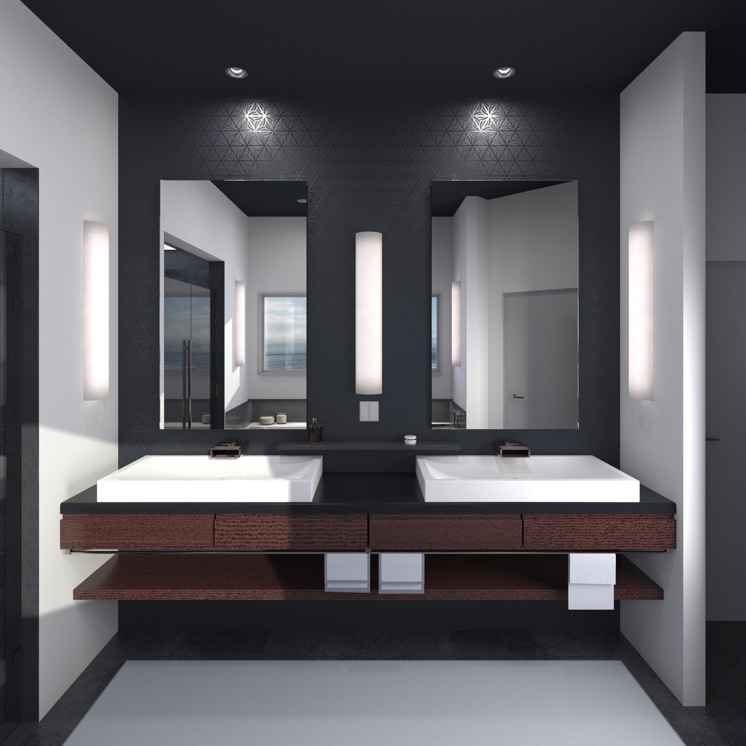 Contemporary Bathroom Interior.55.png PlusPng.com  - Bathroom Interior PNG