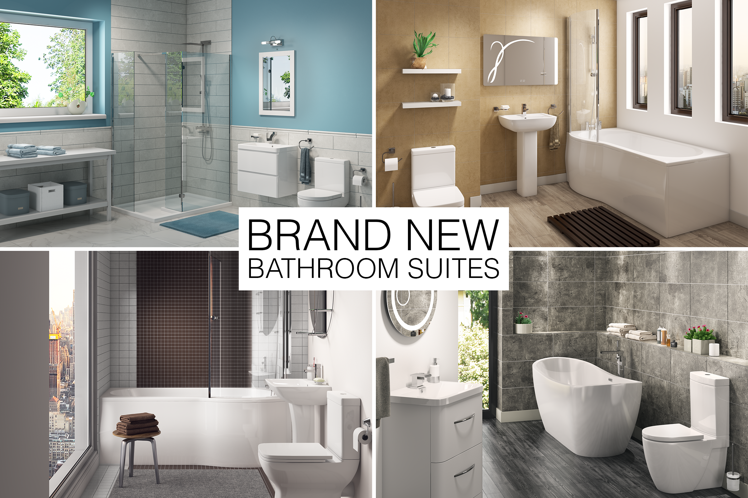New Bathroom Suites: The London Collection - Bathroom Interior PNG