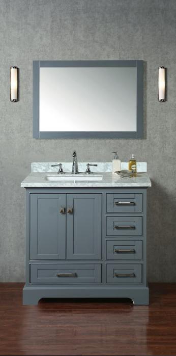 HD-7130G-36-CR_A - Bathroom Sink PNG HD
